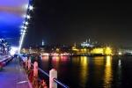 Galata Köprüsünden gece