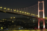 İstanbul Boğaz Köprüsü Gece