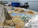 Şile sahil balıkçı ağları