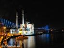 Gece Ortaköy Mecidiye Camii ve Boğaziçi Köprüsü 2